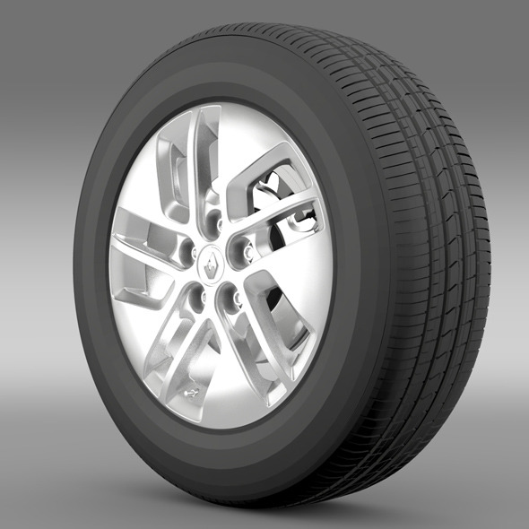 Renault Trafic wheel 2015 - 3DOcean Item for Sale