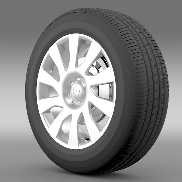 Vauxhall Vivaro Van wheel 2015 - 3DOcean Item for Sale