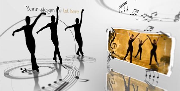 After Effects Project - VideoHive Ellegant Ballet Dancers Video display presentation 137576