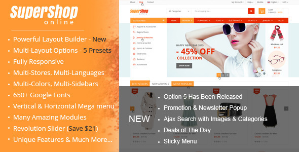 SuperShop – Multi-Purpose Responsive Prestashop Theme