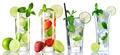 Mojito cocktail collection