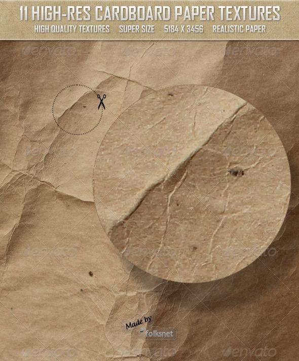 Cardboard Paper Textures - Paper Textures