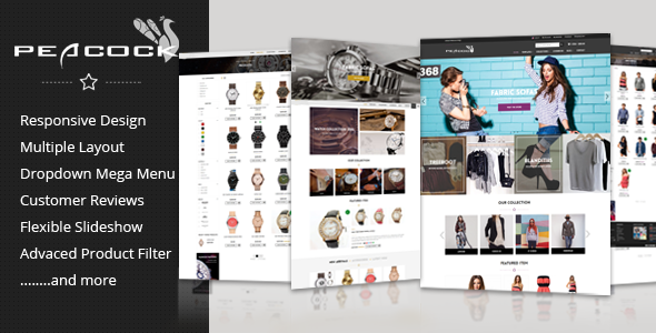Peacock - Multipurpose Responsive Shopify Theme