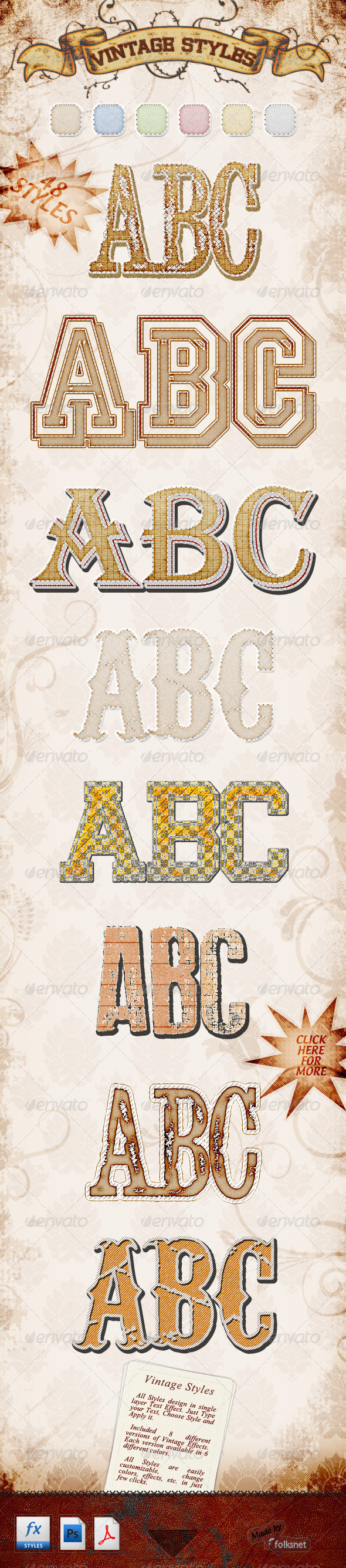 GraphicRiver Vintage Styles 757929