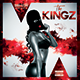 The Kingz | Mixtape Tape Album CD Cover Template
