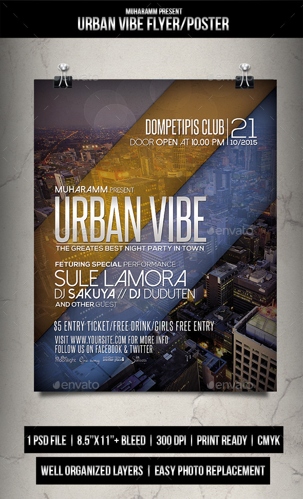 Urban Vibe Flyer / Poster