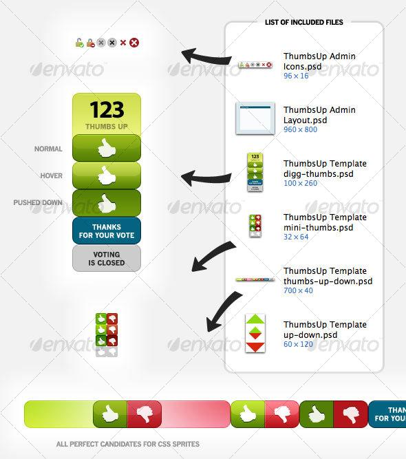 GraphicRiver ThumbsUp Graphics 51644