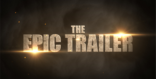 After Effects Project - VideoHive The Epic Trailer 1295421