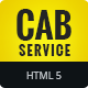 Cab Service | HTML5 Google Banner Ad 01