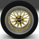 BBS Wheel Gold