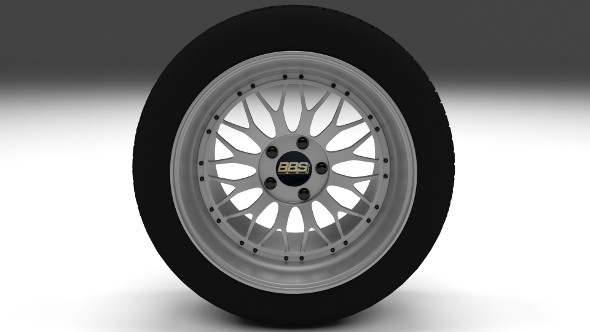BBS Rim - 3DOcean Item for Sale