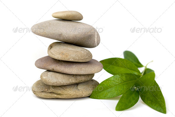 balance stones - Stock Photo - Images