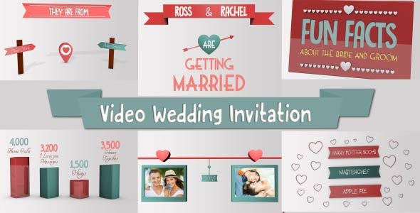 VideoHive We Are Getting Married Wedding Invitation 12938517