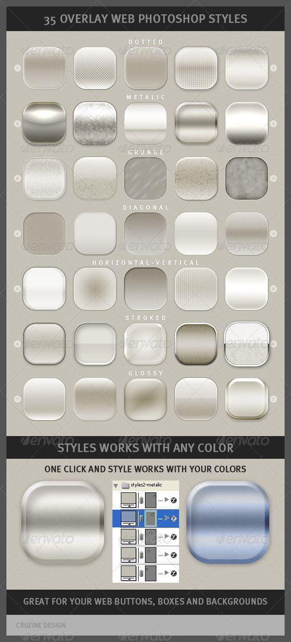 GraphicRiver 35 Overlay Web Photoshop Styles 1295699