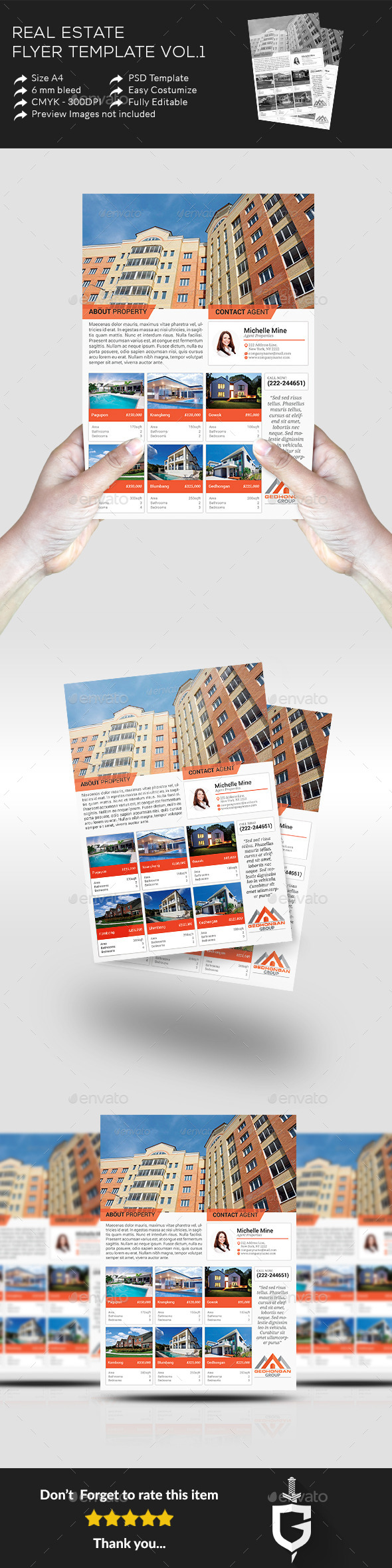 Real Estate Flyer Template Vol.1