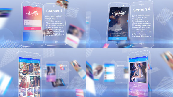 App Screen Presentation - Latest News on Apple products Latest Release Apps and Games
