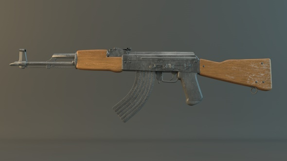 AK-47 - 3DOcean Item for Sale