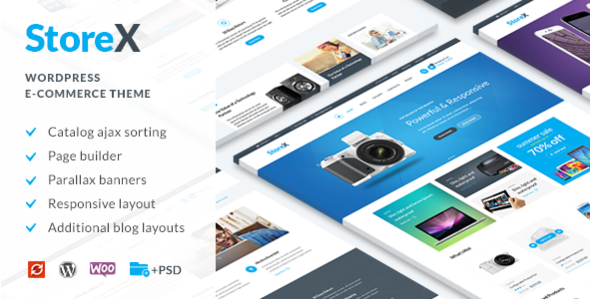 22 - StoreX - WordPress WooCommerce Electronics Theme