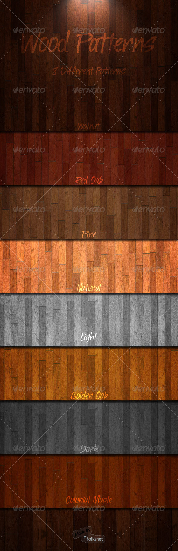 GraphicRiver Wood Patterns 1.0 803883