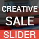 Creative Sale Slider