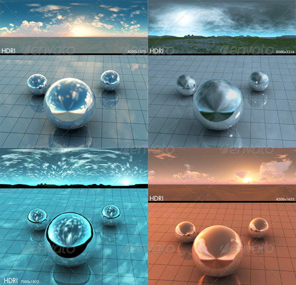 HDRi pack - 3DOcean Item for Sale