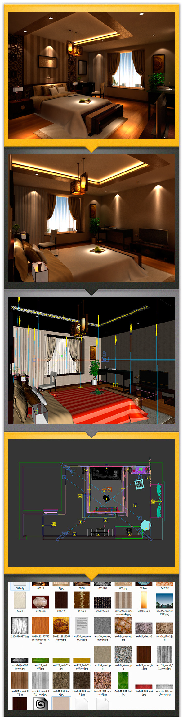 bedroom - 3DOcean Item for Sale