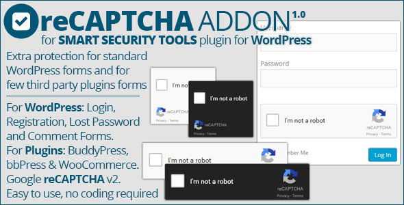 Smart Security Tools: reCAPTCHA Addon