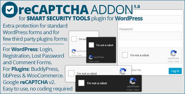 Smart Security Tools: reCAPTCHA Addon