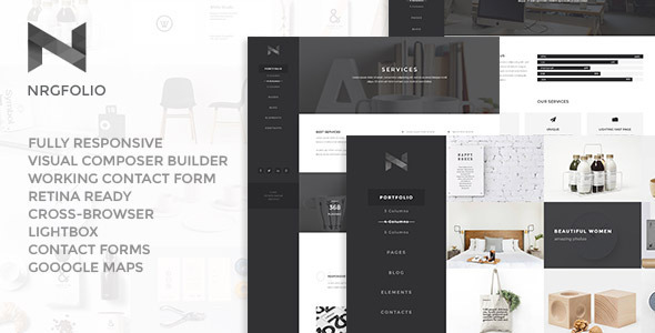 Download NRGfolio - Premium Portfolio WordPress Theme nulled download