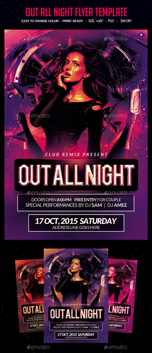 club psd graphics designs templates from graphicriver
