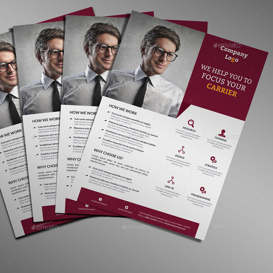 creative business flyer bundle by sixlock graphicriver creative business flyer bundle