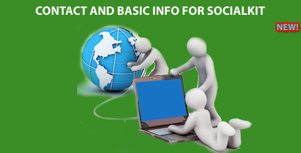 Contact and Basic Info for Socialkit