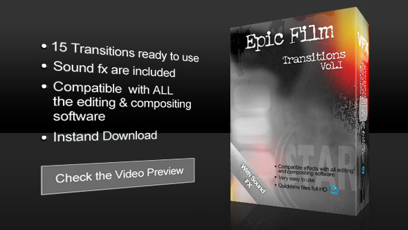 Epic Film Transitions Vol 1