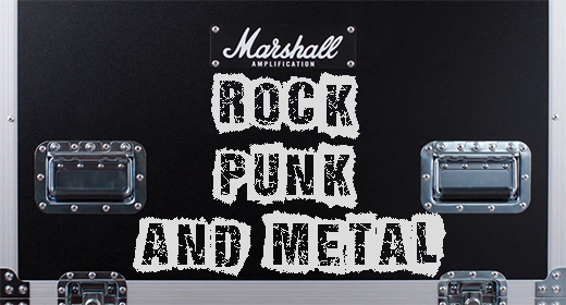 Rock Punk and Metal
