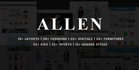 Allen - Multi-Purpose PSD Template