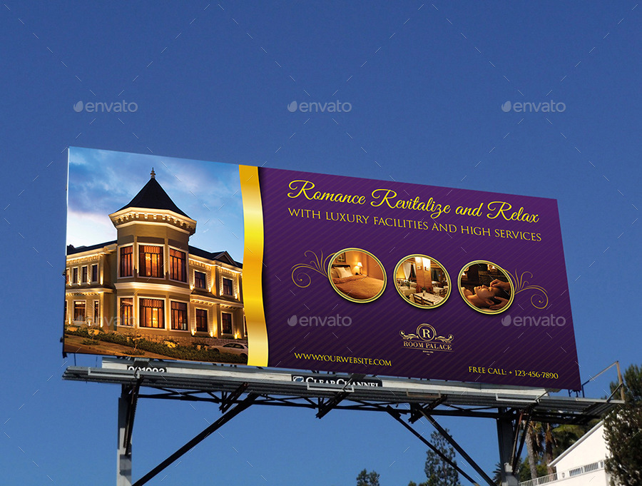 Hotel Billboard Template By Owpictures Graphicriver
