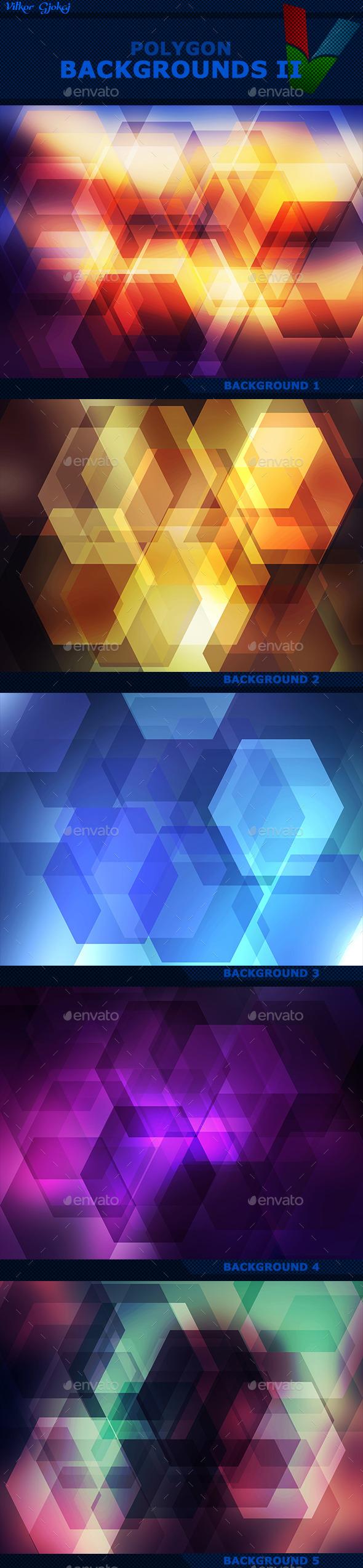 Polygon Backgrounds II