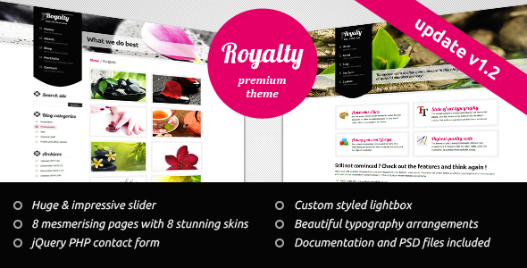 Royalty Clean Theme -