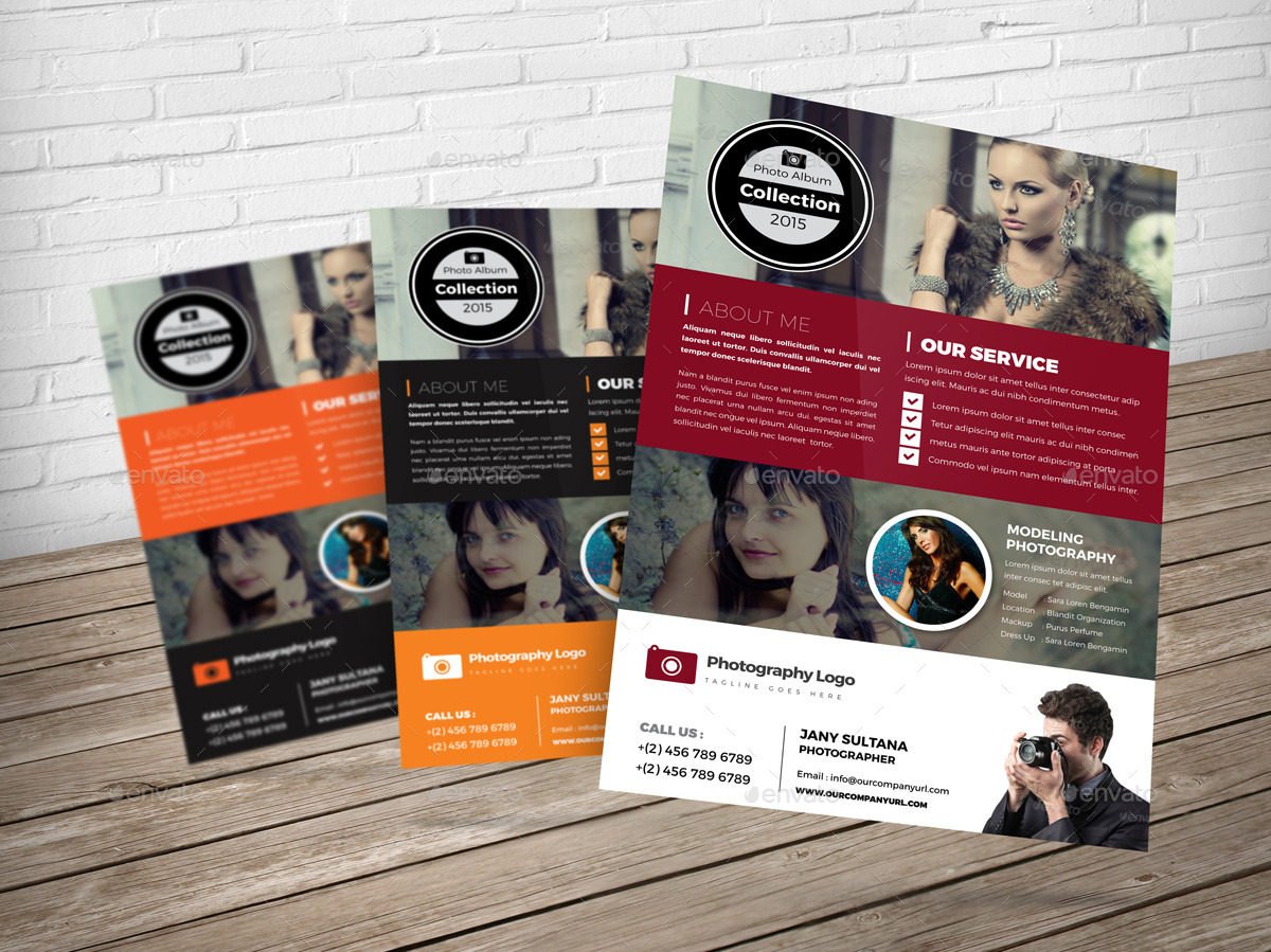 Photography Flyer InDesign Template by JanySultana – Photography Flyer