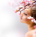 Beautiful Spring Girl With Flowers - PhotoDune Item for Sale