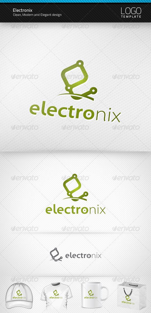Electronix Logo - Letters Logo Templates