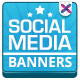 Social Media HTML5 Banners - 7 Sizes