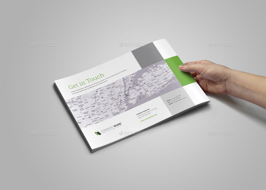 Portfolio Brochure InDesign Template v2 by Jbn-Comilla | GraphicRiver