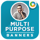 Multipurpose HTML5 Banners - GWD - 7 Sizes