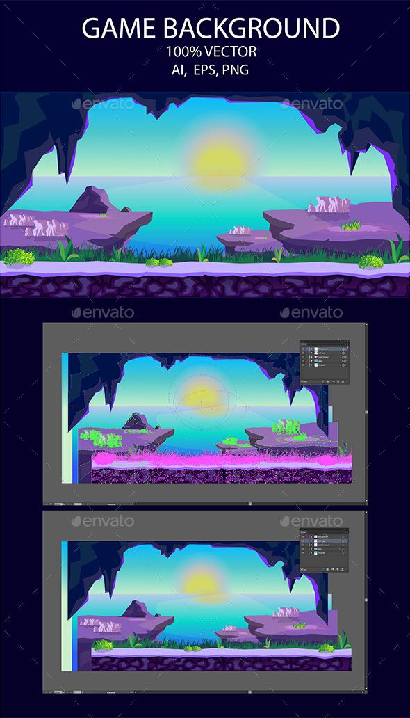 Game background Rocks (Backgrounds)