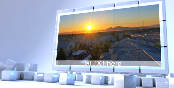 After Effects Project - VideoHive Cube assembly 147058