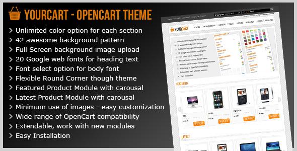 Yourcart - Opencart Premium Theme