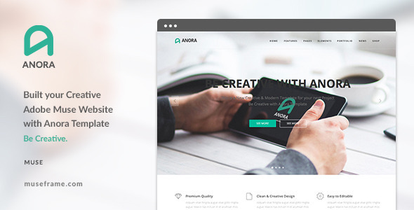 Anora - Design Multi-Purpose Muse Template