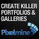 Create Portfolios and Galleries with Pixelmine - CodeCanyon Item for Sale