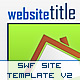 SWF Site Template V2 - ActiveDen Item for Sale